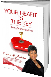 Your Heart is the Key 3D Book Cover