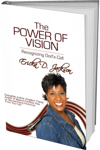 The Power of Vision 3D Book Cover