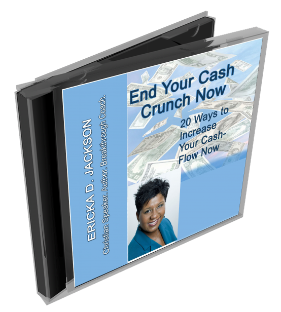 End Your Cash Crunch Now 3D CD ecover