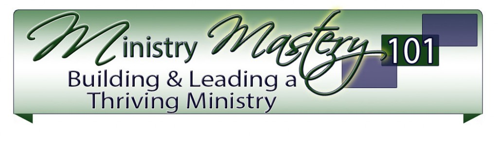 Ministry Mastery Header 2012