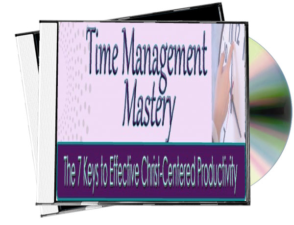 Time Management Mastery audio teaching 3D Cover2