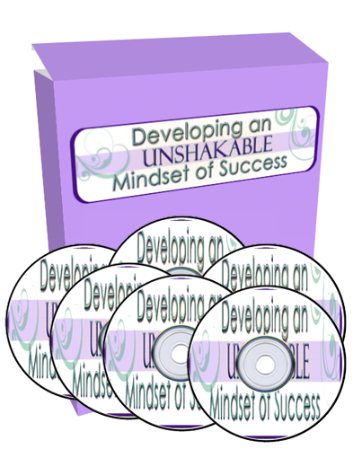 Unshakeable Mindset Audio Image Package