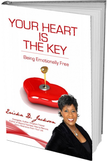 Your Heart is the Key 3D Book Cover - reduced