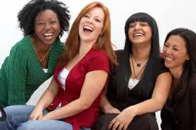 laughing women 2