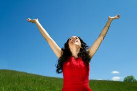 praising woman 1
