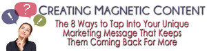Magnetic Content TAG Teleclass Header