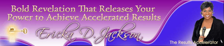 Ericka D. Jackson, Christian Speaker header image