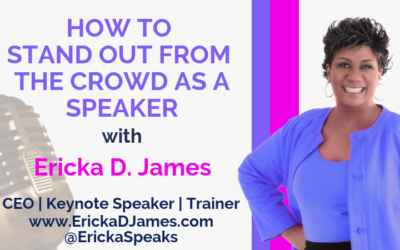 How to Stand Out From the Crowd As A Speaker