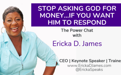 STOP ASKING GOD FOR MONEY…IF YOU WANT HIM TO RESPOND